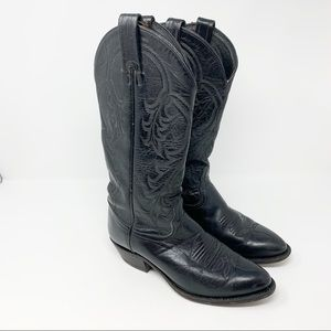 TONY LAMA Cowboy Pampas Pointed Toe Boots